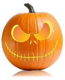 Pumpkin carving ideas easy creative 21 | Inspira Spaces #pumpkindesigns