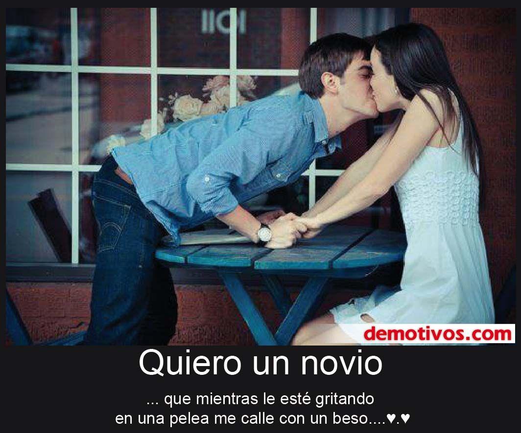 Quiero un novio que termine las peleas con besos | Amor Amor ...