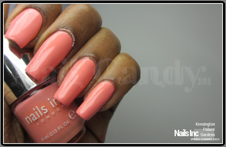 Nails Inc Spring Summer 2013 nail polish collection review and swatches - Kensington Palace Gardens