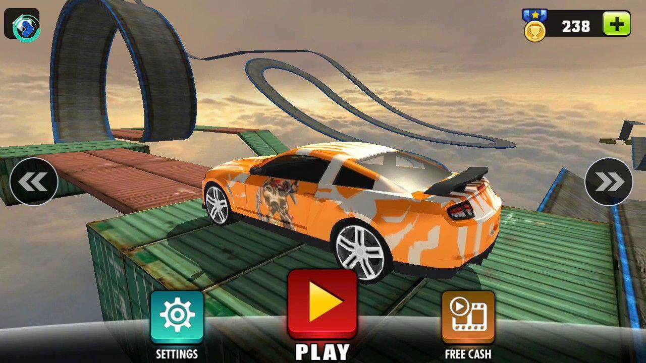 Car Stunt Game Impossible Stunts City Car Car Games