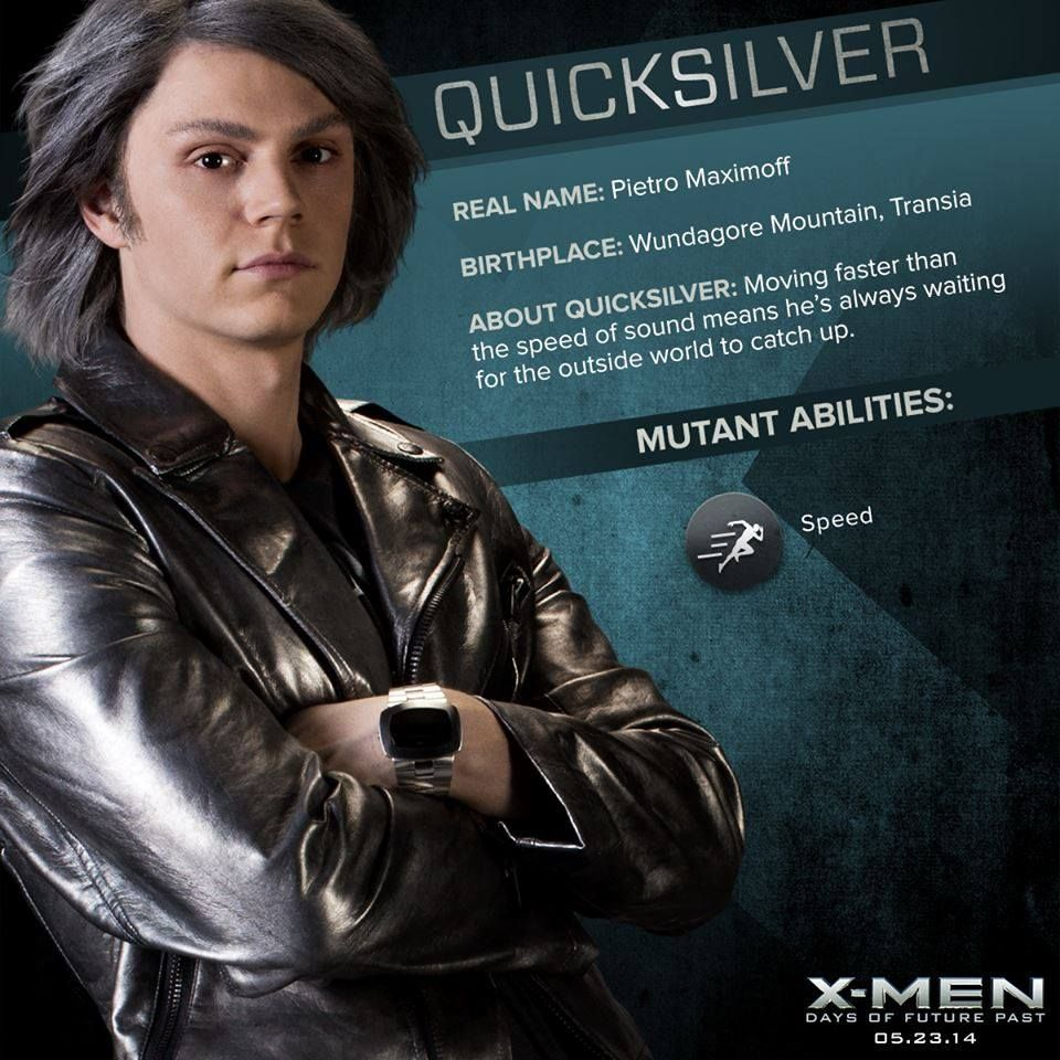 quicksilver x men days of future past | Quicksilver-Pietro ...