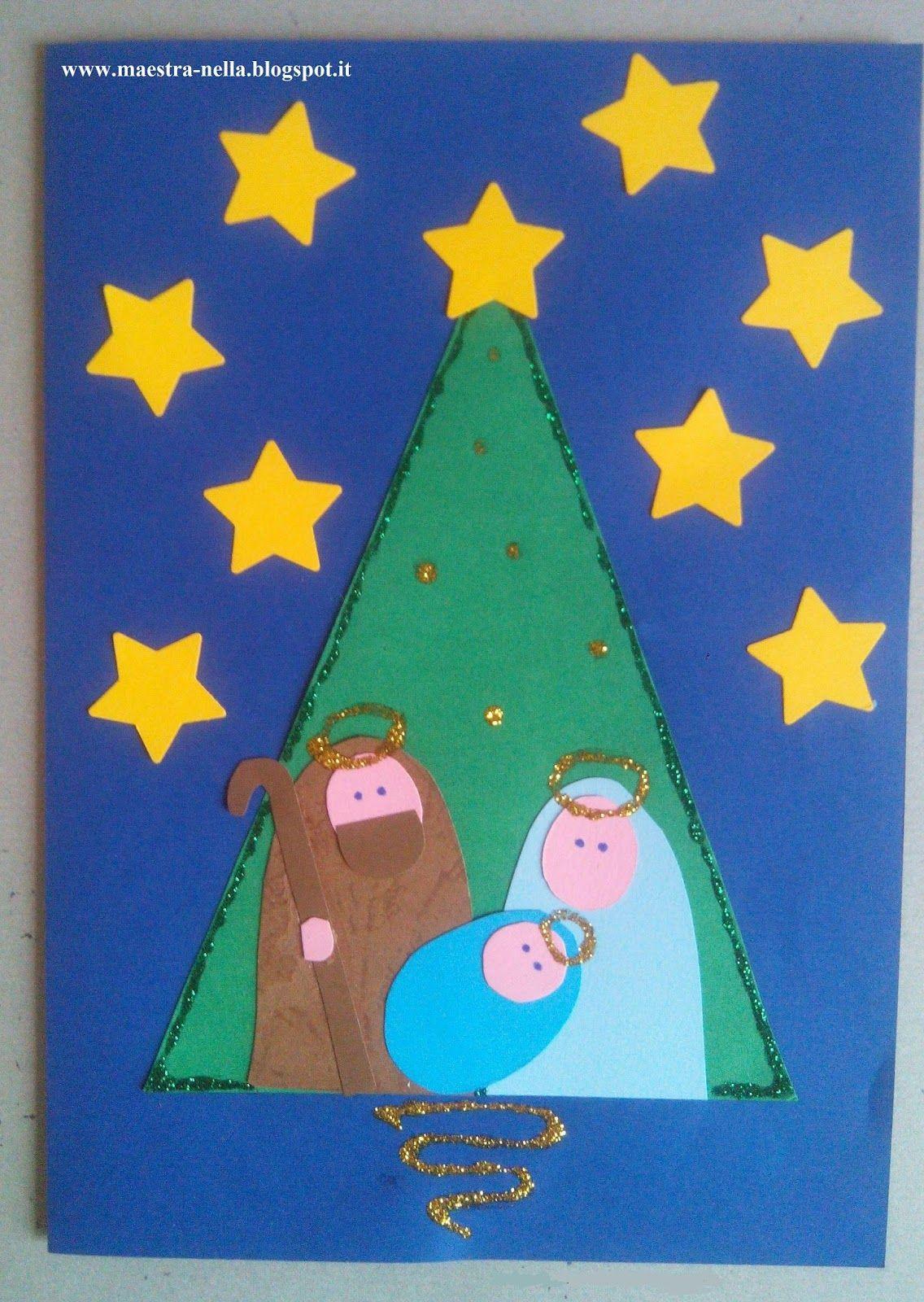 Disegni Di Natale E Lavoretti.Disegni Idee E Lavoretti Per La Scuola Dell Infanzia E Non Solo