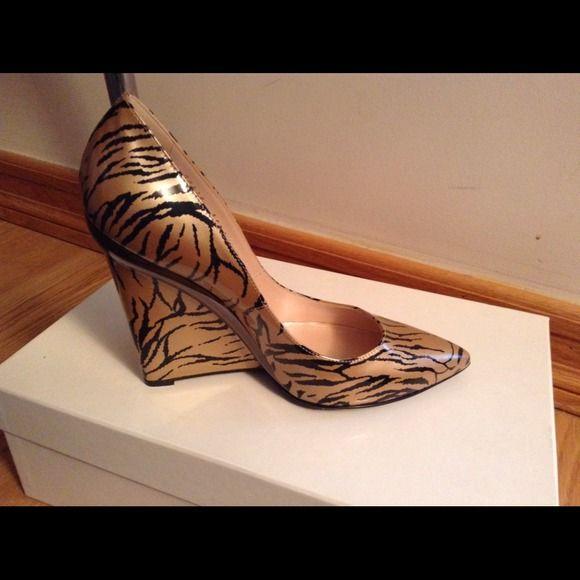 "Spotted while shopping on Poshmark: ""Casadei Wedge Shoes - size 6""! #poshmark #fashion #shopping #style #Casadei  #Shoes"