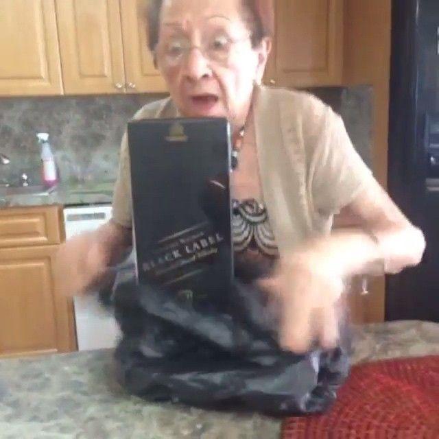 Grandma's a drinkaa  By Luis Pelaez