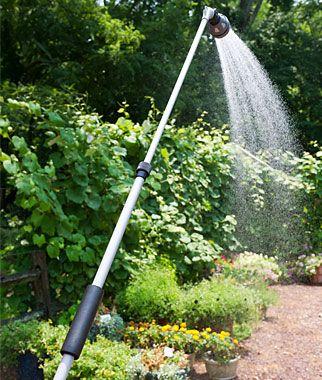 Ergonomic Telescopic 7 Pattern Water Wand Home Gardening Supplies