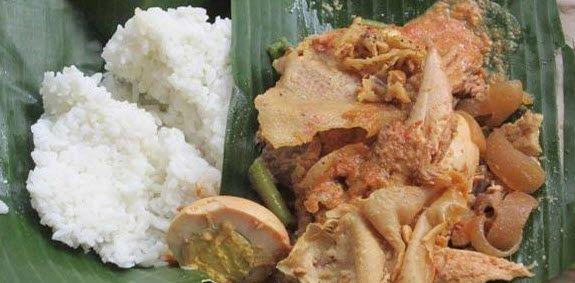 Wisata Kuliner Jember Kuliner Nasi Gudeg Lumintu Rumah