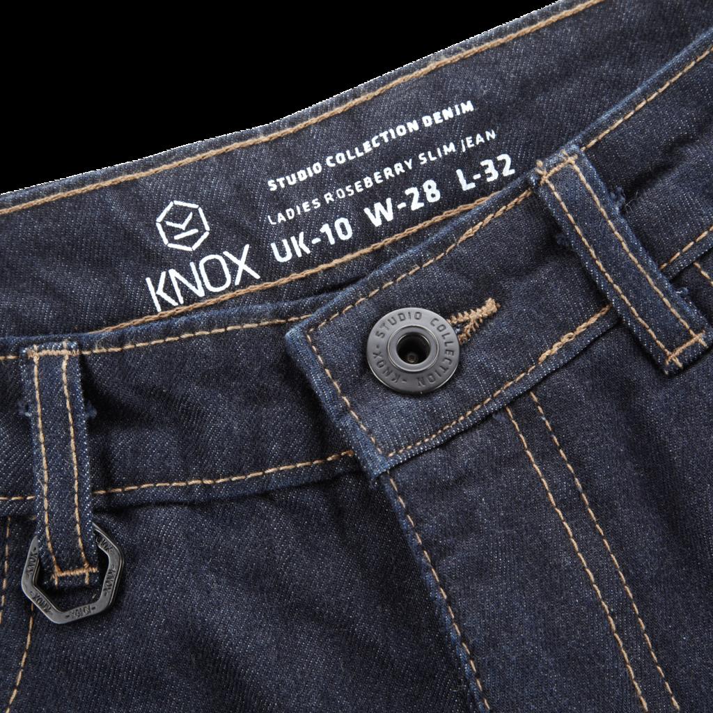 KNOX Roseberry Ladies Denim Jeans (Kevlar ® lined) Blue in