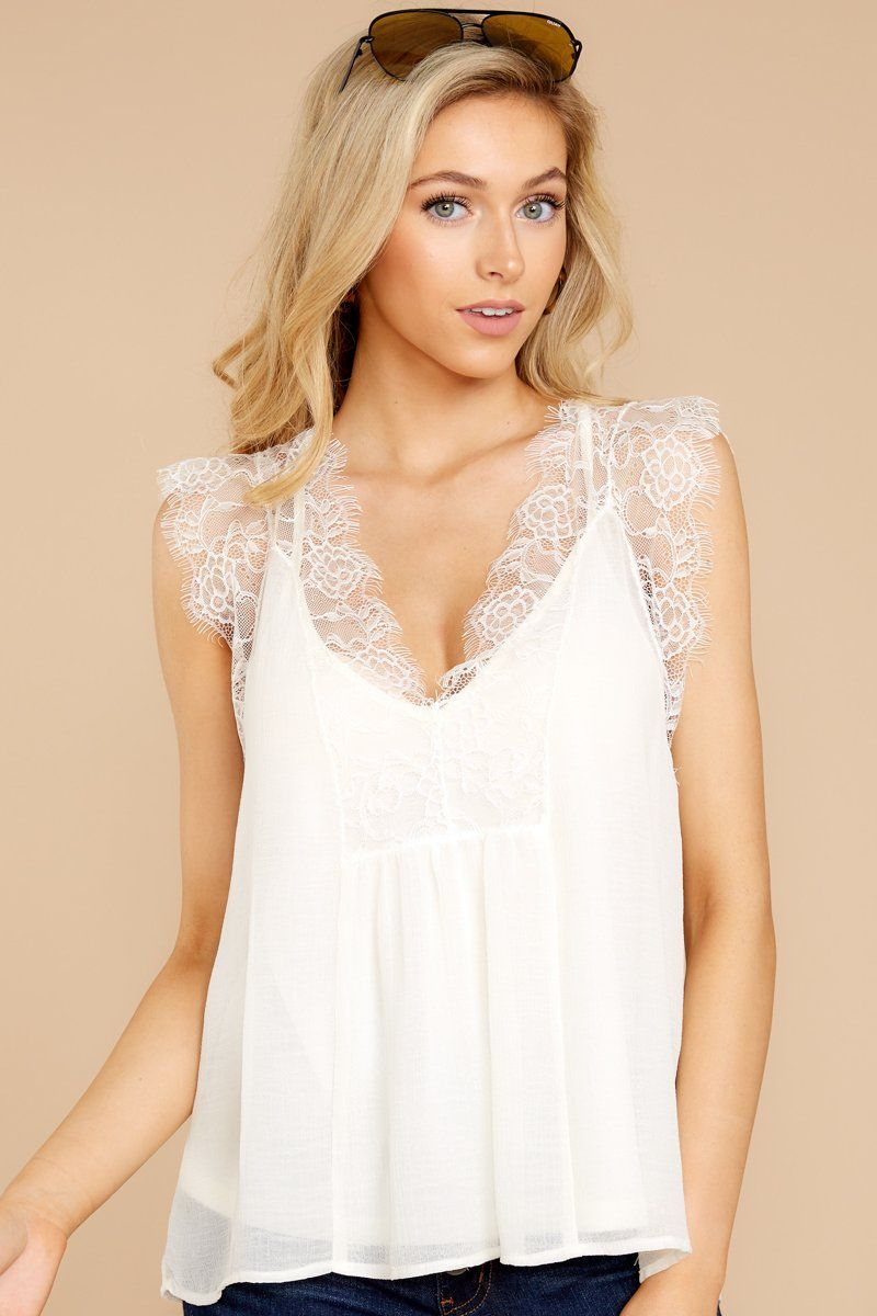 Gorgeous White Lace Tank Top Trendy Lace Cami Top Top 46 00 Red Dress Boutique White Lace Top Lace Top Shirt White Lace Tank Top [ 1200 x 800 Pixel ]
