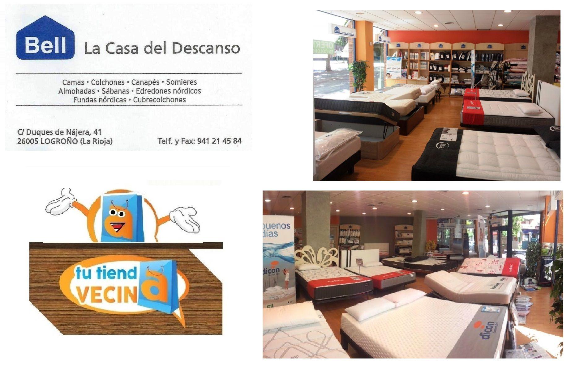 8248a3ec8d Bell especialistas en la venta de colchones en Logroño En Bell colchonería  encontrarás los mejores especialistas