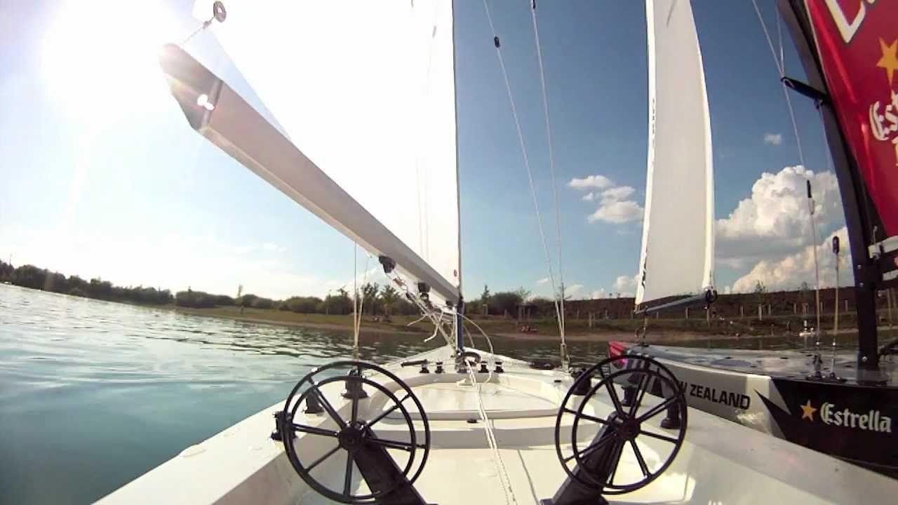 Segeln mit RC Segelbooten   R/C Sailboats   Sailboat