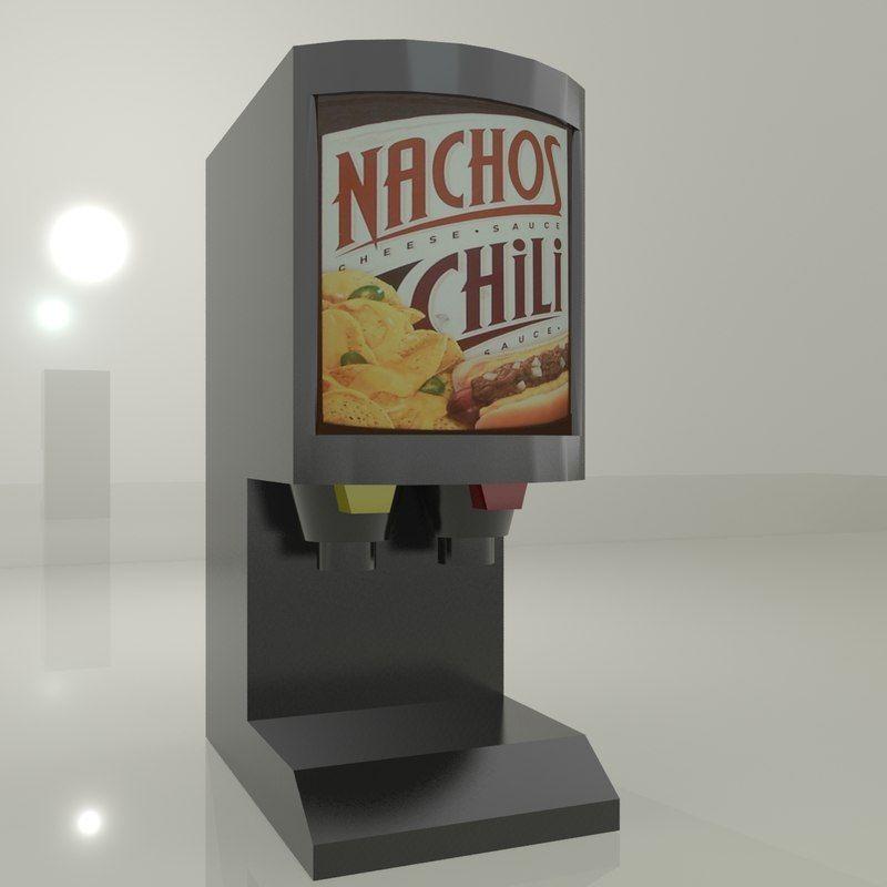 Chilli Cheese Dispenser by MASArch | TurboSquid | Kitchen