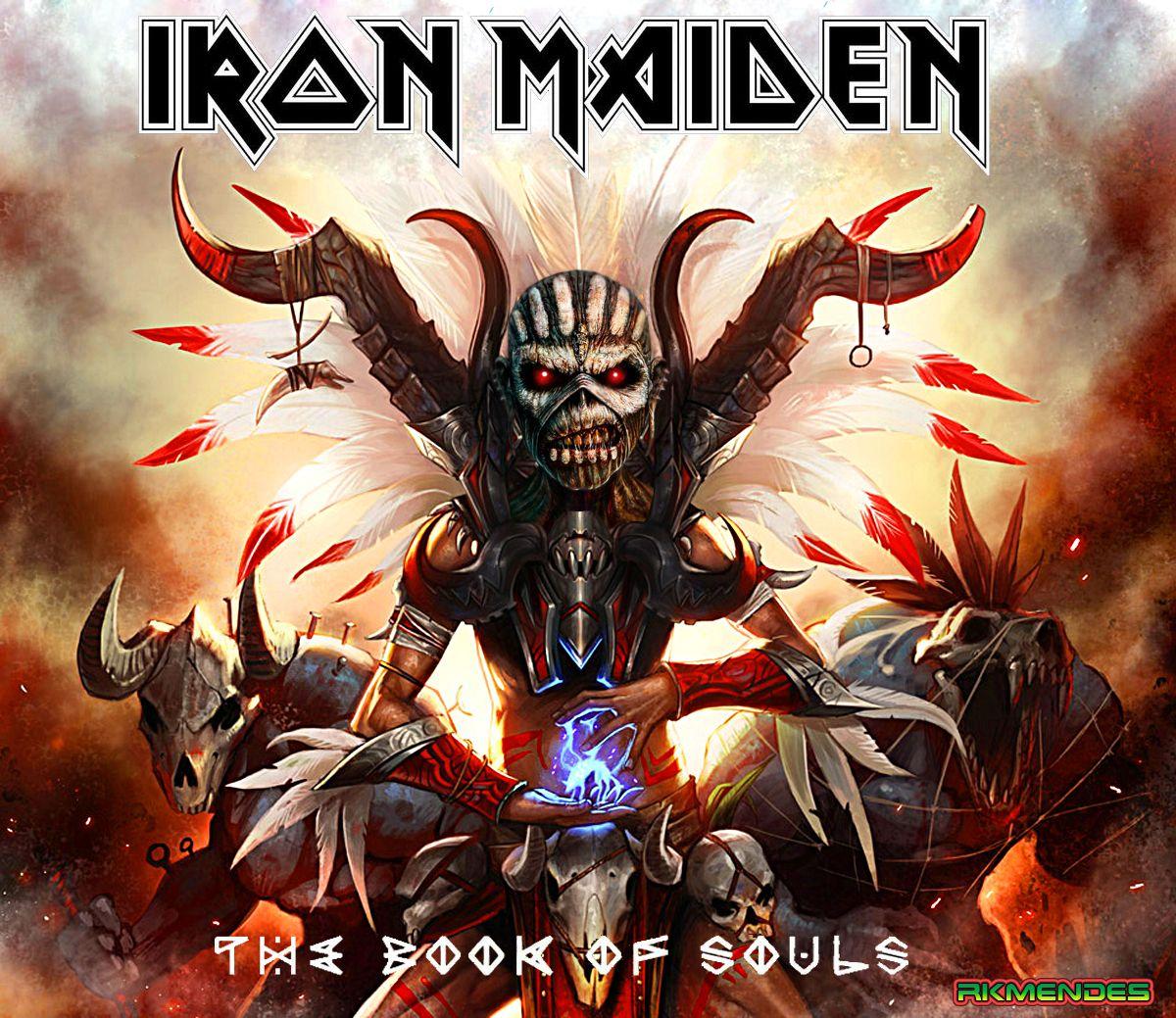 Iron Maiden Book Of Souls Iron Maiden Mascot Iron Maiden Albums Iron Maiden Album Covers