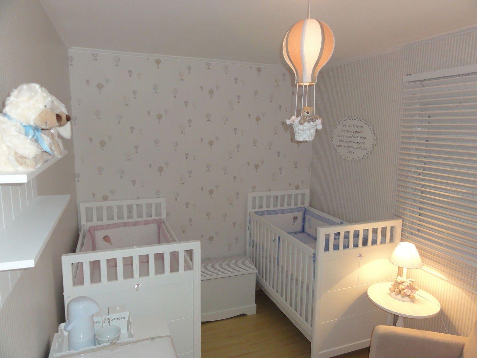 Quarto gemeos lindo | Quarto bebê casal gemêos | Pinterest