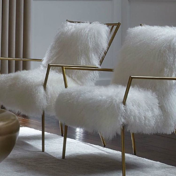 Our Fuzzy Accent Chair Glamhomefurniture Hollywood Malibu