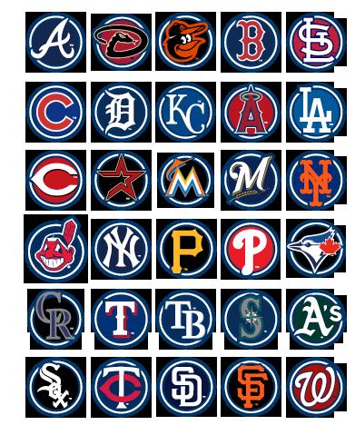 2012 Mlb Team Logos Baseballmlb Mlb Team Logos Mlb Baseball Teams Mlb Teams