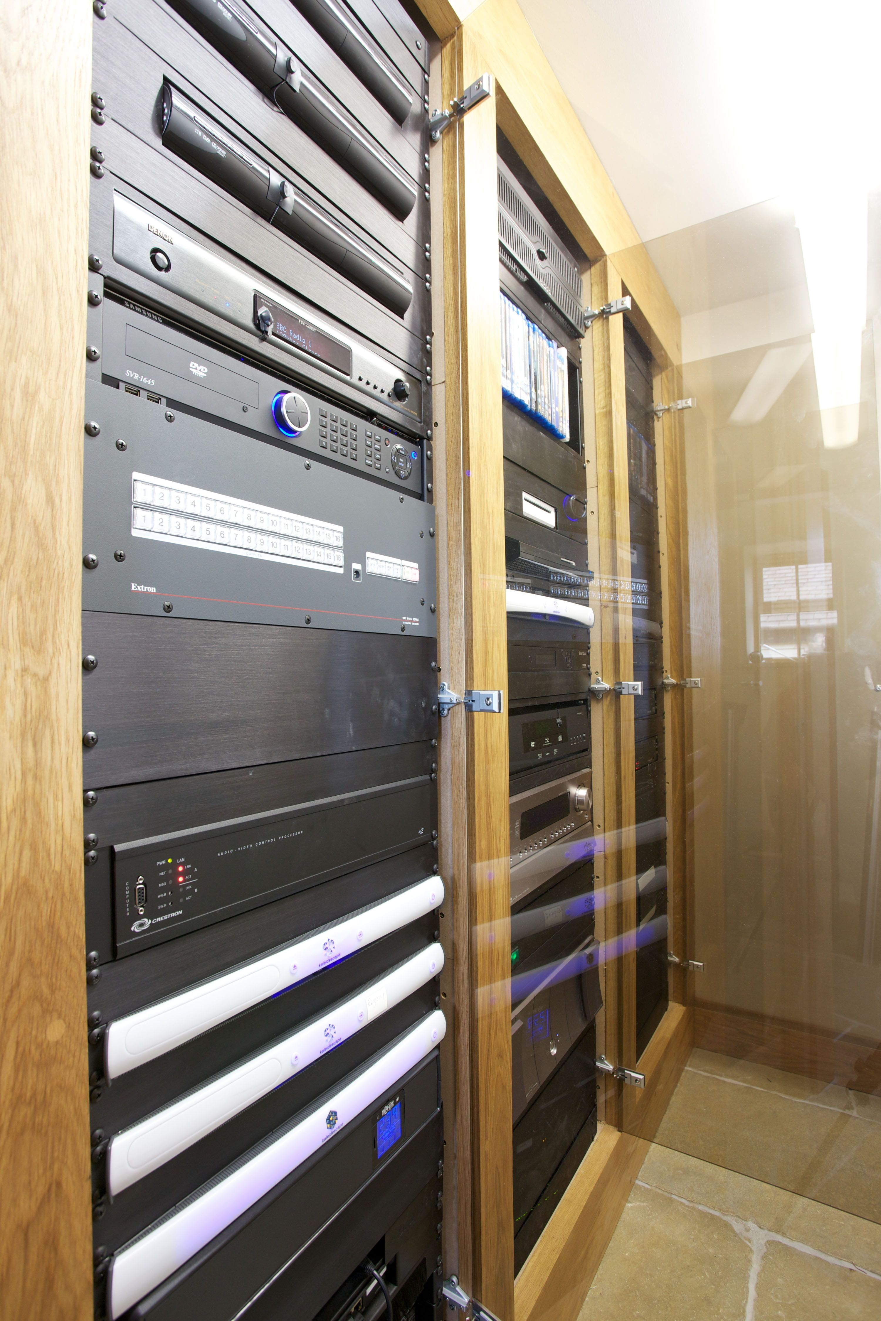 The home automation and control rack from Finite Solutions\' #luxury ...