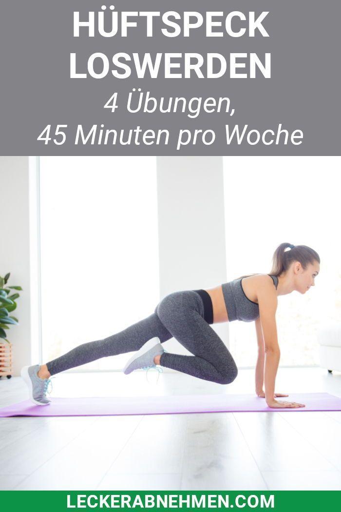 Hüftspeck loswerden: Die richtige Ernährung und Anti-Hüftspeck Übungen  #ami... #fitness #fitnesstra...