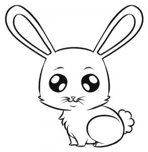 How To Draw An Easy Bunny I D Probably Change The Eyes Though And