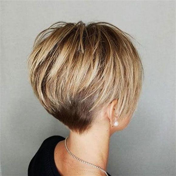 20 Susse Kurze Haarschnitte Fur Dickes Haar Kurzhaarschnitt Fur