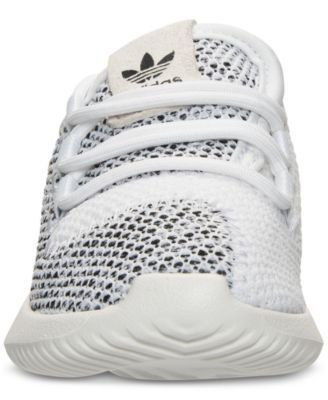 ec8e7d182b3 adidas Toddler Girls  Tubular Shadow Knit Casual Sneakers from Finish Line  - White 10