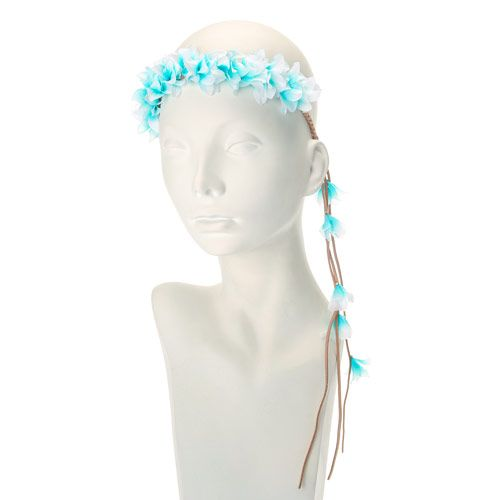 Aqua Mexican Hair Garland