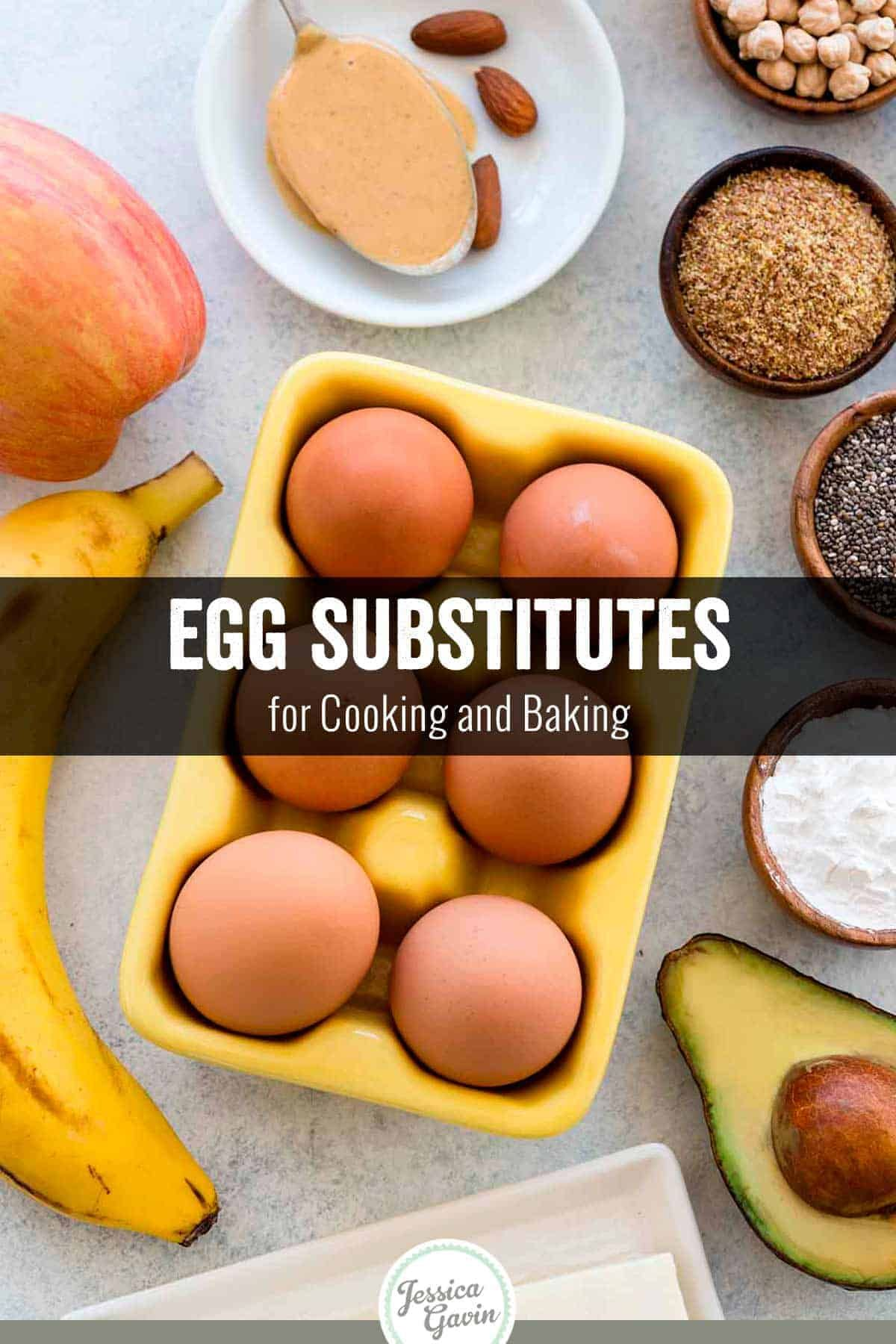 Egg Substitutes For Cooking And Baking Jessica Gavin Egg Substitute For Cooking Substitute For Egg Baking Substitutes