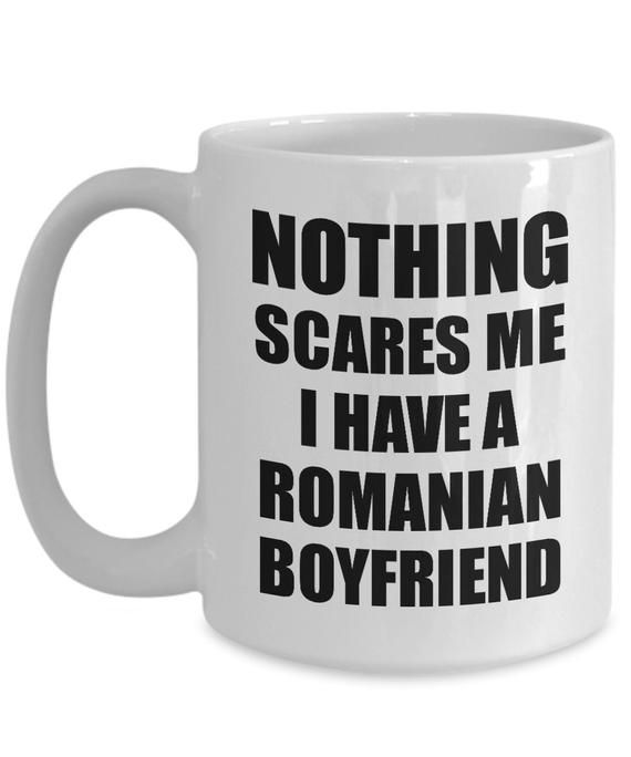 Funny Gift Gf My Romanian For Girlfriend Valentine Mug Boyfriend Her OPZTwikuXl
