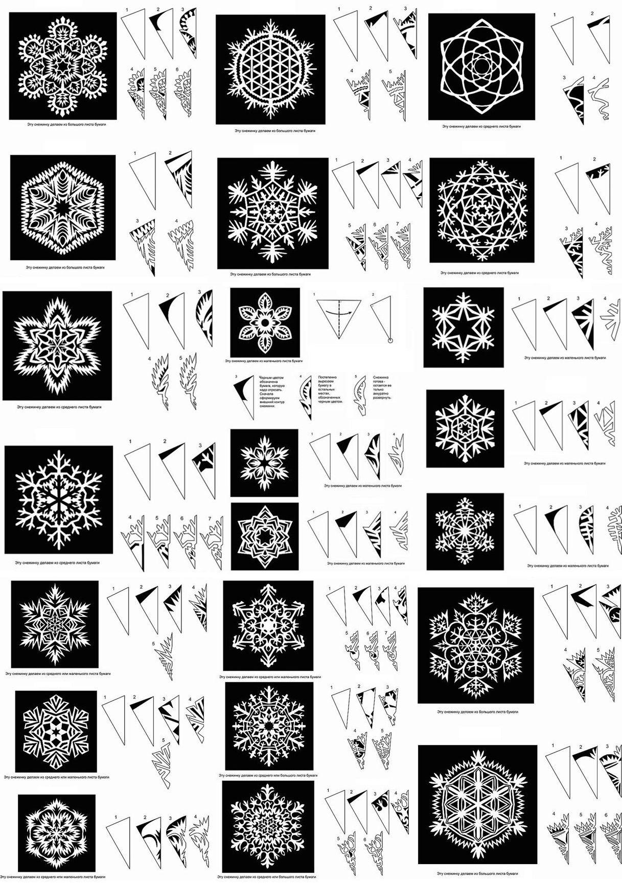 STENCIL Patrones … | copos de nieve | Pinte…