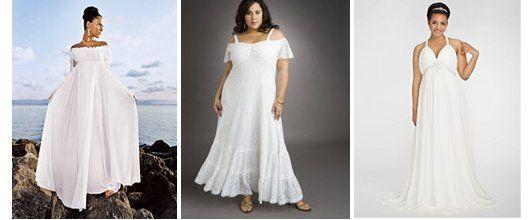 Long dresses for full figure women