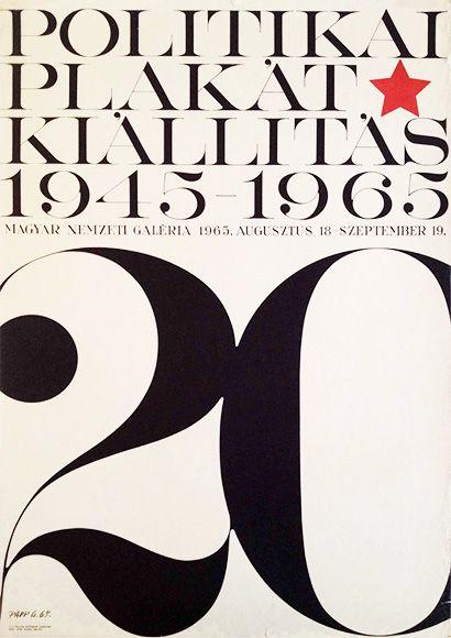 Political 1965papp 1945 Gábor Poster Exhibition srxtQhdC