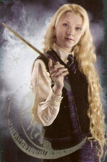 HP challenge day 4 - My favorite Hogwarts student is Luna Lovegood. Who´s yours?