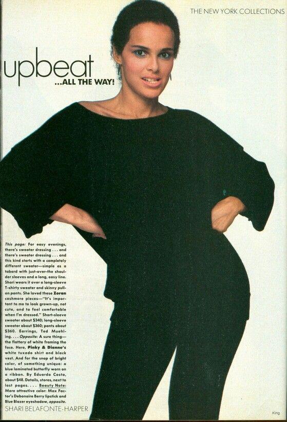 quotupbeatquot vogue us september 1982 photographer bill