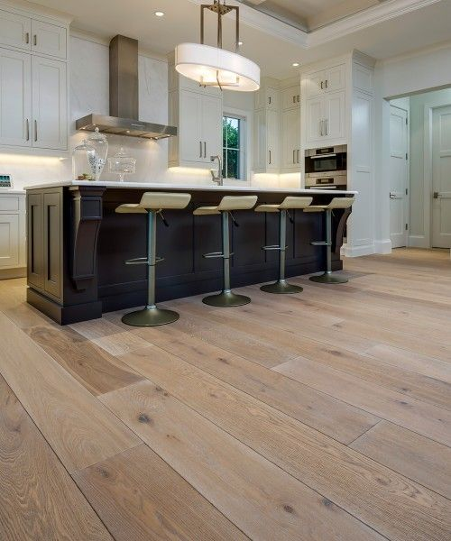 I love this light colored vinyl wood floor for this kitchen. Vinyl plank  flooring comes - I Love This Light Colored Vinyl Wood Floor For This Kitchen. Vinyl