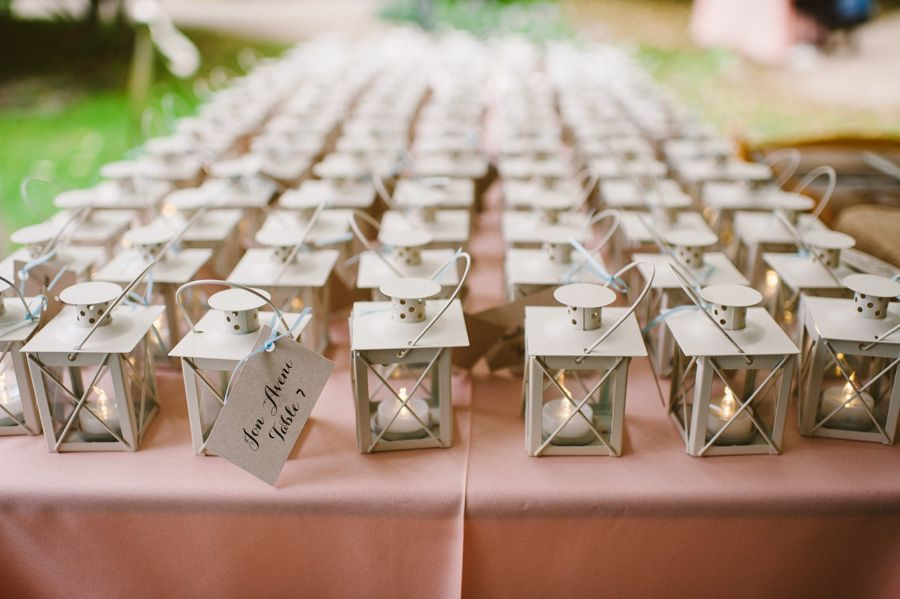 mini lantern seating cards
