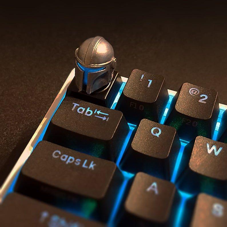 Star Wars Mandalorian Backlit LED Keycap Handmade Resin Custom | Etsy in  2021 | Star wars pc, Mandalorian, Star wars