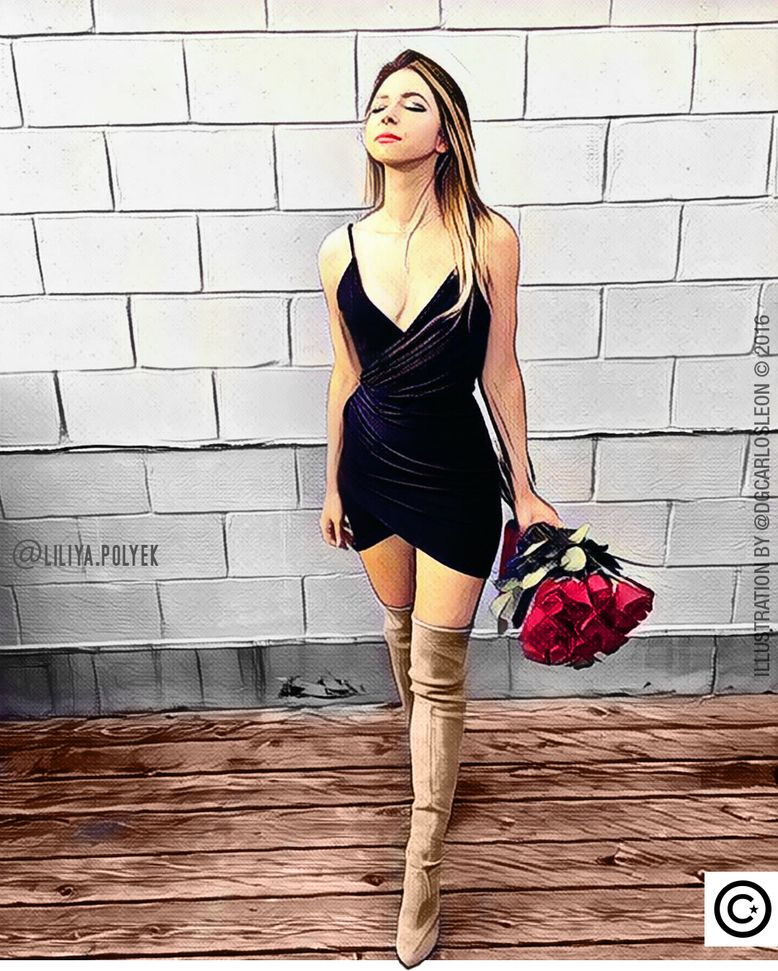Don't be a prisoner to your PAST No seas prisionero de tu PASADO  Les presento a mi amiga Liliya (@liliya.polyek) le apasionan los atardeceres y la playas... ama viajar y siempre esta a la moda  Que grato el poder hacerte esta ilustración Liliya y que alegría saber que te ha gustado  Los sigo invitando a seguirla en su cuenta oficial de Instagram @liliya.polyek @liliya.polyek @liliya.polyek @liliya.polyek  Aquí hacemos gráficas tus ideas (Here we charts your ideas)  DG CARLOS LEÓN  . Agencia…