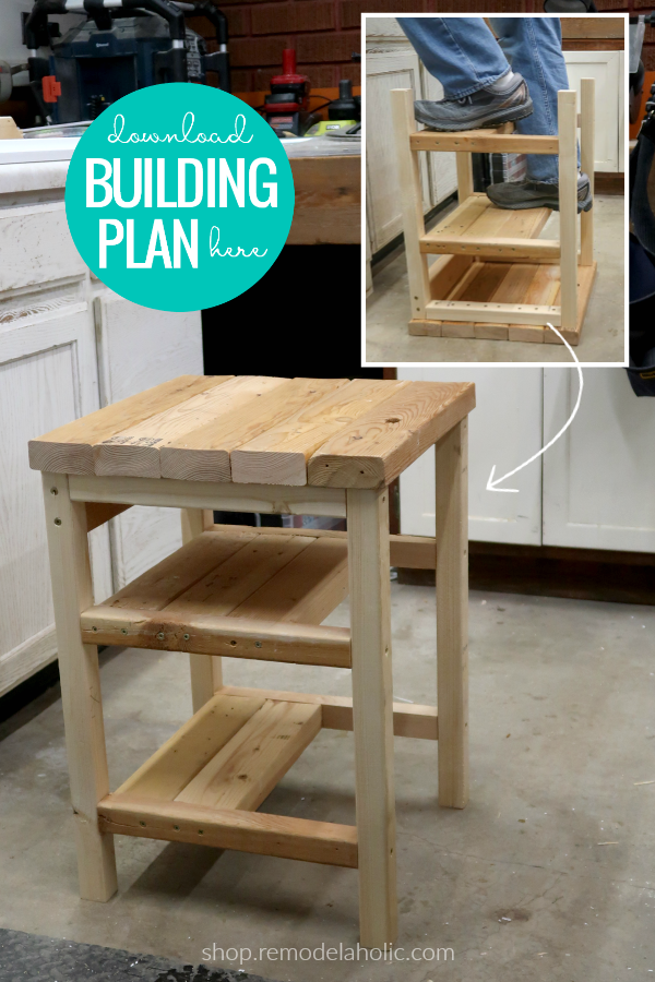 Hoosier Step Stool Flip Over 2x4 Bar Stool Step Ladder Woodworking Plan Stool Woodworking Plans Woodworking Plans Woodworking Projects