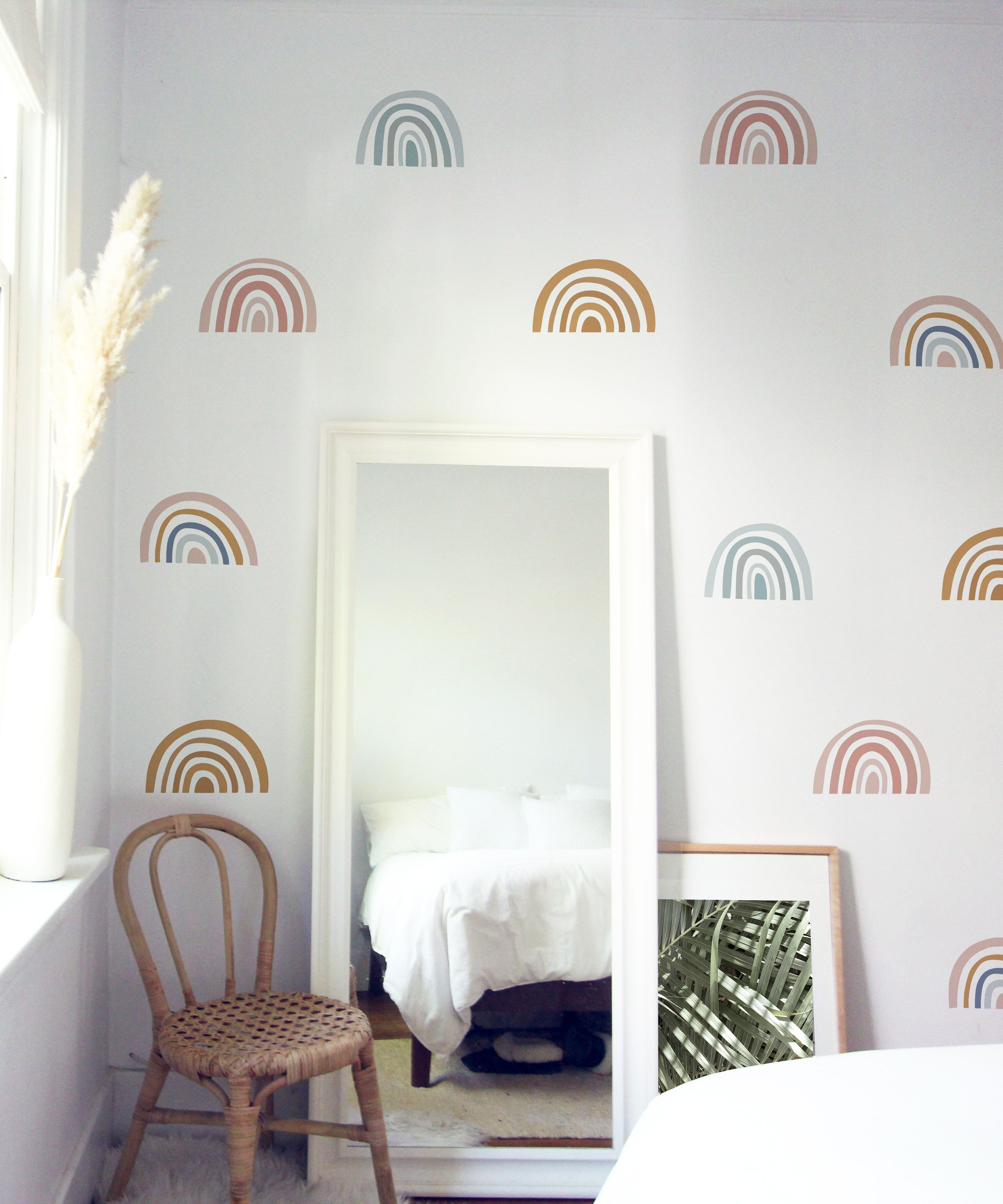 Mini Ombre Rainbows Rainbow Wall Stickers Kids Room Wall Stickers Wall Stickers Kids