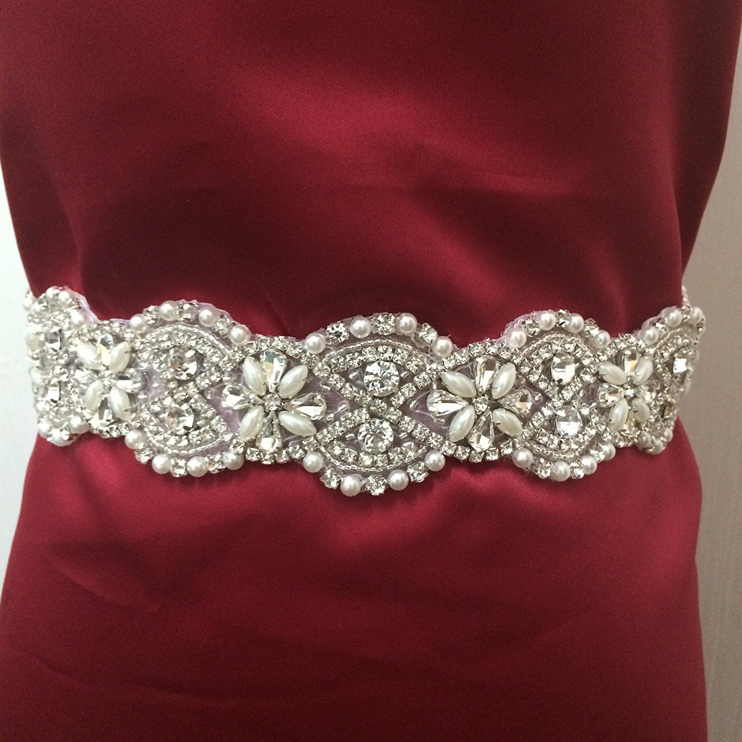 Sale Bridal Belt Wedding Belt Sash Rhinestone Applique,pearl Applique,wedding Sash Applique,wedding Belt Applique,diy Wedding Belt,diy Bridal Sash,bridal Wedding Accessories--m109 >>> Be sure to check out this awesome item.