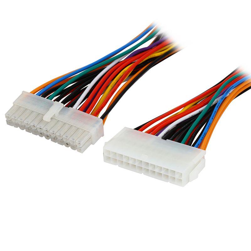 8 inch Computer Molex 24 Pin Motherboard to ATX EPS PSU Power Supply ...