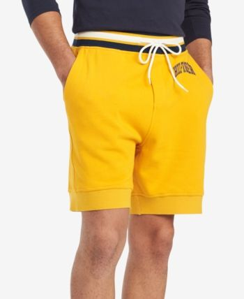 38cf3b6fd6 Tommy Hilfiger Men's Campus Sweat Shorts, Created for Macy's - Brown ...