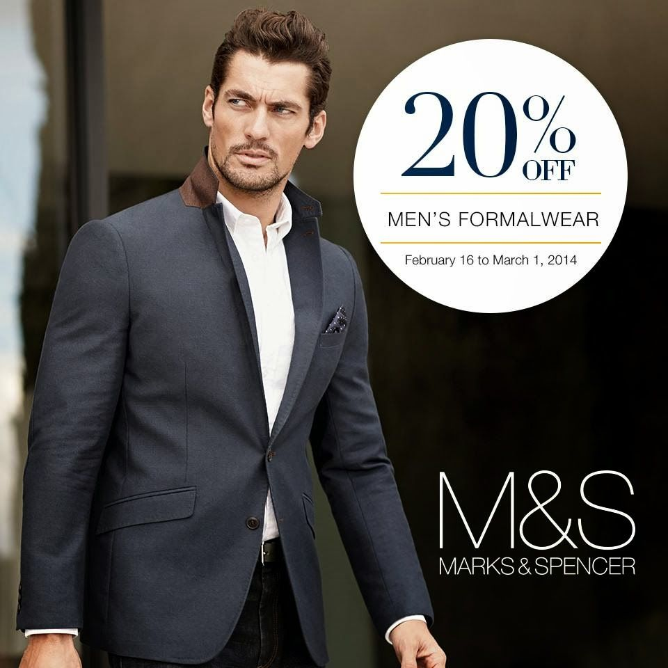 Manila Shopper Marks Spencer Men S Women S Formal Wear Sale