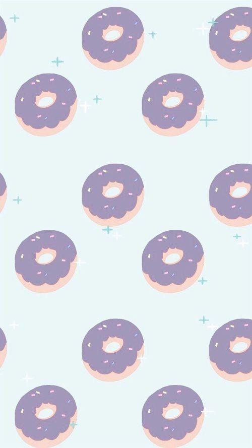 Doughnut Wallpaper Doughnut Wallpaper Mobilewallpapers Cute Wallpaper For Phone Phone Wallpaper Cute Wallpapers