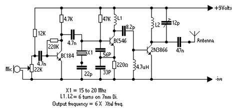 250mw fm vhf transmitter this fm vhf transmitter will output rh pinterest com