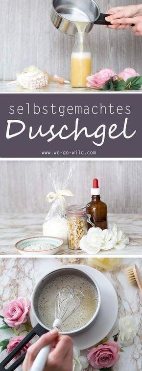 Duschgel selber machen: Die einfachste Anleitung für DIY Duschcreme #diyundselbermachen