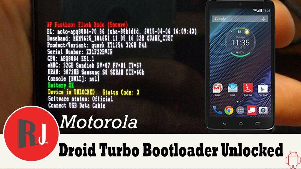 Descargar Motorola Droid Turbo Root & Bootloader unlock