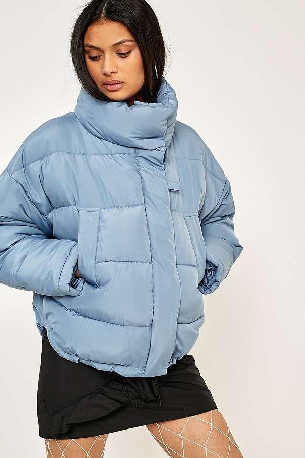 Light Before Dark Blue Pillow Puffer Jacket | Blue pillows, Puffer ...