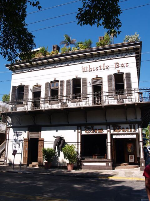 The Bull And Whistle Bar On Duval St Key West Top Floor Is The