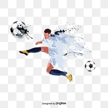 Edited At Https Lunapic Com Football Illustration Football Background Football Players