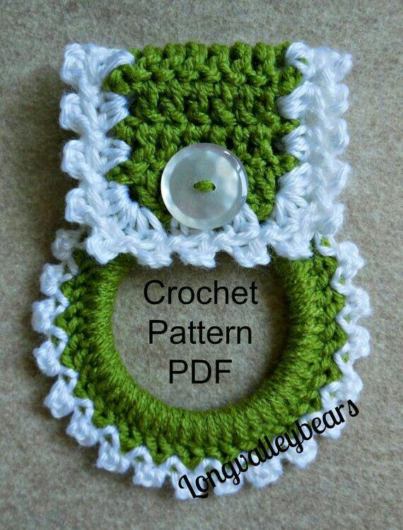 Christmas Crochet Towel Holder with towel | Tejido, Ganchillo y ...
